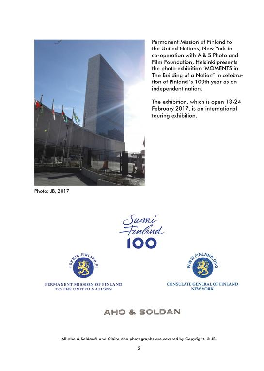 AHO & SOLDAN, CLAIRE AHO - MOMENTS IN THE BUILDING OF A NATION, UNITED NATIONS, GENERAL ASSEMBLY BUILDING, DELEGATE´S LOBBY, NEW YORK 2017