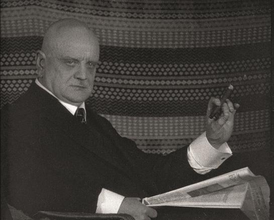 Jean Sibelius - photo from the book Jean Sibelius at Home ©JB